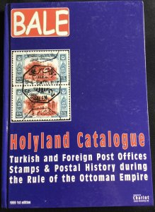 Bale 1999 Holyland Catalogue Turkish/Foreign PO 1st Edition Brand New LPB