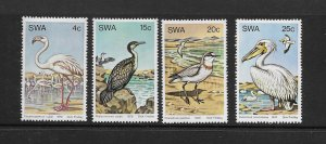 BIRDS - SOUTH WEST AFRICA #429-32  MNH