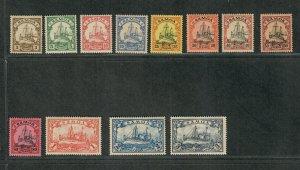 German Dominion Samoa Sc#57-58 M/H/VF, Cv. $32.05