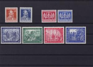 germany 1947 - 48  mint never hinged stamps ref r14152