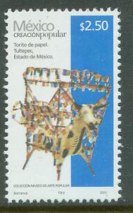 MEXICO 2492g, $2.50Pesos HANDCRAFTS 2013 ISSUE. MINT, NH. F-VF.