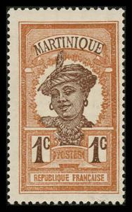 Martinique 62 Unused (MH)