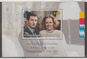 Liechtenstein Scott #1005 Stamps - Mint NH Souvenir Sheet