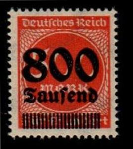 Germany Scott 267a Mint NH VF (Catalog Value $75.00)