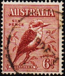 Australia. 1932 6d S.G.146 Fine Used