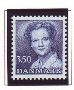 Denmark Sc 712 1983 3.50 kr blue Queen stamp mint NH