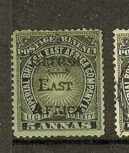 BRITISH EAST AFRICA  (P1503B) SG40  MOG