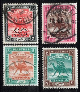 SUDAN STAMP USED STAMPS COLLECTION LOT