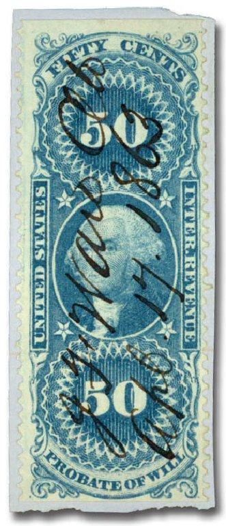 1862 first issue revenue