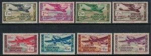 French Equatorial Africa #C1-8* NH  CV $8.00