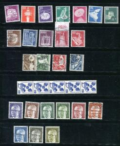 Germany 1953 and up Accumulation   Used/Unused 7033