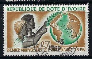 Ivory Coast 182 VFU MAP V540