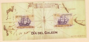 Philippines: Sc #3331, MNH, S/S, Dia Del Galeon (S18918)