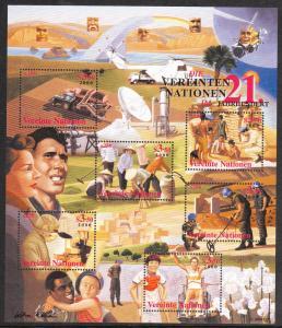 United Nations - Vienna #278 MNH M/S CV$7.50