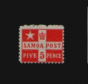 Samoa 1895 Sc 23a Perf.11 MH