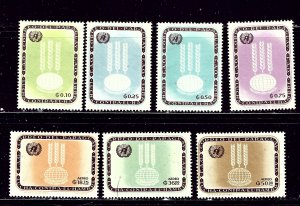 Paraguay 760-66 MNH 1963 Freedom from Hunger