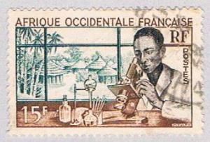 French West Africa 59 Used Medical Labratory 1953 (BP2564)