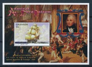 [81282] Grenada 1996 Ships Boats Victory Lord Nelson Sheet MNH