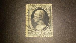 Scott 190 1879 American Bank Note Printing Used (115)