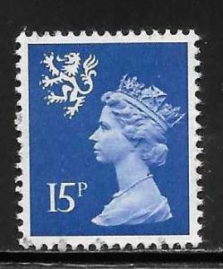 Great Britain Scotland SMH26 15p Machin MNH
