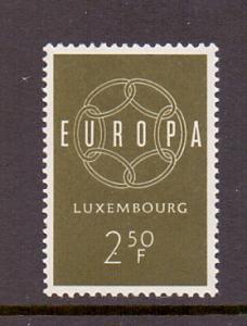 Luxembourg  1959   MNH    Europa    2f.50 green