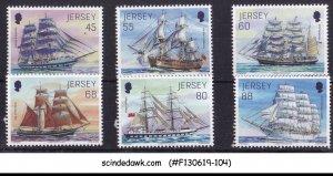 JERSEY - 2013 TALL SHIPS - 6V - MINT NH
