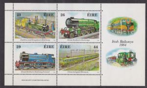 Ireland # 584a, Irish Railways, Locomotives, NH, 1/2 Cat.