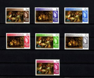 CAYMAN IS - 1968 - QE II - CHRISTMAS - NATIVITY - SHEPHERD - 7 X MINT - MNH SET!
