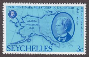 Seychelles 372 American Bicentennial 1976