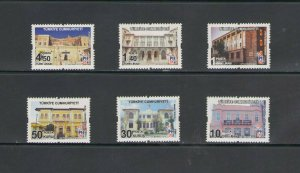 TURKEY:+BUY NOW+ Sc 3483-88 / **VARIOUS POST OFFICES ** / SET OF 6  / MNH.
