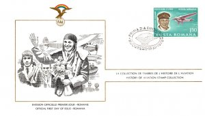Romania, Worldwide First Day Cover, Aviation