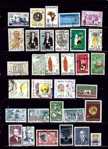 Tunisia #1 32 Different used stamps