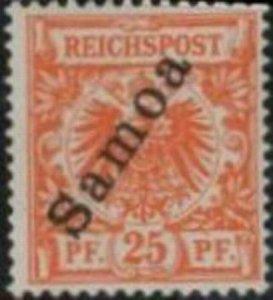 Samoa 1900 SC 55 MNH