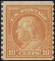 497 Mint,OG,LH... SCV $17.50