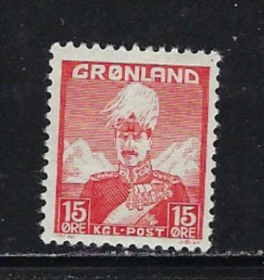 Greenland 5 NH 1938 issue