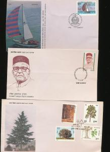 INDIA FDC Covers Mixture (Appx 20 Items) Ac1013