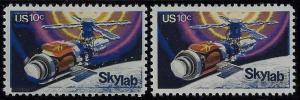 1529 - Multiple Color Shift Error / EFO Space Skylab Mint NH