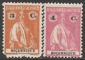 MOZAMBIQUE 189-190 MOG CERES Z1984