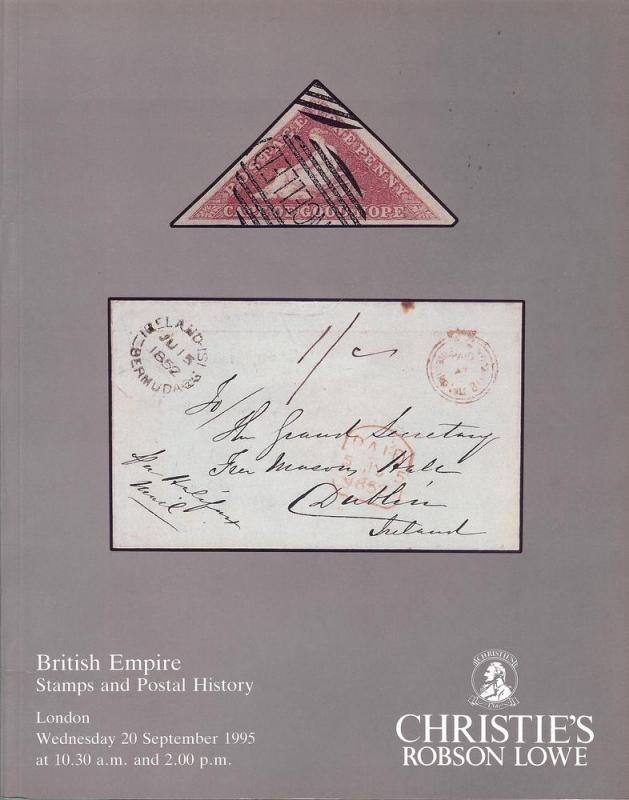 British Empire Stamps and Postal History, Christie's Robs...