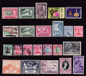 Selangor (Malaysia) a small M&U lot 1950 onwards