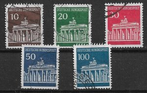 GERMANY  1966 - used - SET