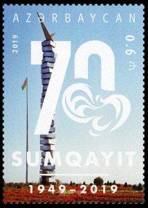 2019 Azerbaijan 1491 70 years to the city of Sumgait