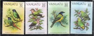 Vanuatu 1981 Sc 300-3 Birds MNH