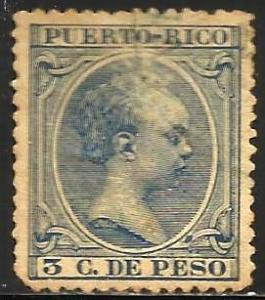 Puerto Rico 1896 Scott# 106 Used