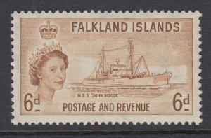 Falkland Islands, Scott 125 (SG 190), MLH