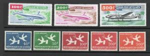 Guinea - Sc# C14 - C21 MLH /  Lot 0319164