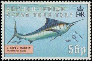 1995 British Indian Ocean Territory #168-171, Complete Set(4), Never Hinged