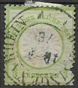 Germany #17 Large shield used space filler