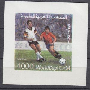 Z3954, 1994 syria s/s mnh #1314 sports