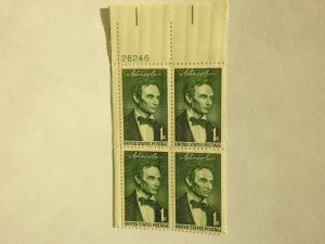 U. S. #1113  MINT Plate Block   OG  NH
